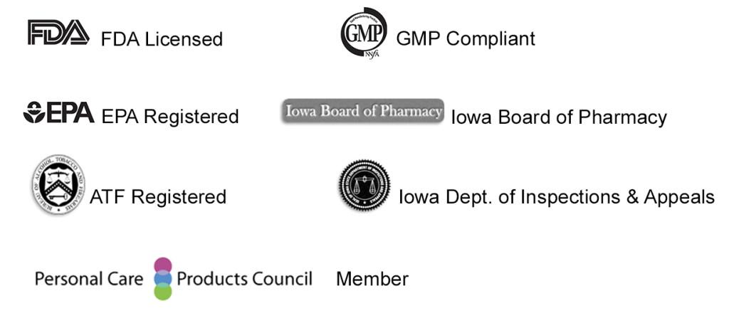 certifications logos